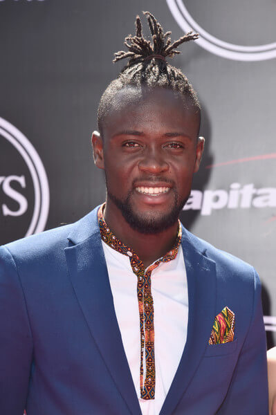 Soccer player Kei Kamara attends the 2016 ESPYS at Microsoft Theater on July 13, 2016 in Los Angeles, California.  (July 12, 2016 - Source: Alberto E. Rodriguez/Getty Images North America)