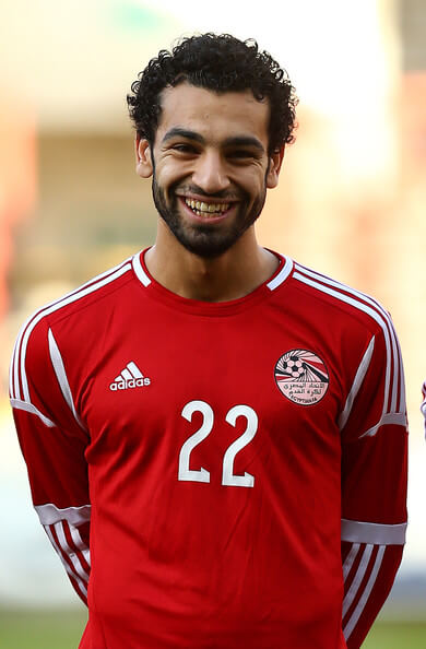 Mohamed Salah of Egypt during the International Friendly match between Jamacia and Egypt at The Matchroom Stadium on June 04, 2014 in London, England.  (June 3, 2014 - Source: Charlie Crowhurst/Getty Images Europe)