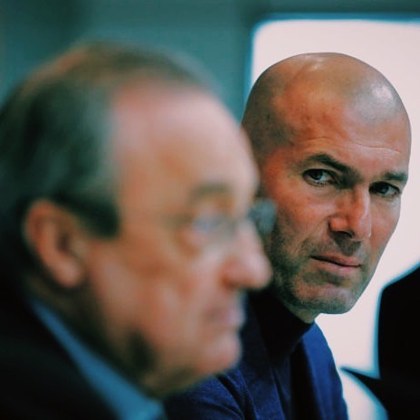 It wasn't that long ago when @realmadrid were on the cusp of winning an eventual Champions League 3-peat under the management of Galactico legend Zidane. 346 days, but who's counting. Surely club president Florentino Perez, who since that fateful day on May 31, 2018, has seen his club bomb out of every competition this season, burning through 2 other coaches on the way. ⠀ ⠀ Read on to see how Zizou got the neon green light upon his return to Madrid - LINK IN BIO