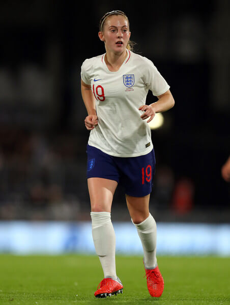 Keira Walsh of England during the International Friendly between England Women and Australia Women at Craven Cottage on October 9, 2018 in London, England.  (Oct. 8, 2018 - Source: Catherine Ivill/Getty Images Europe)
