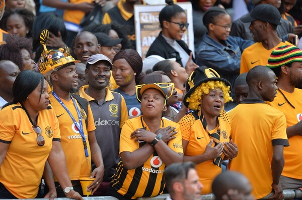 Fans during the Carling Black Label Champion Cup match between Orlando Pirates and Kaizer Chiefs at FNB Stadium on July 29, 2017 in Johannesburg, South Africa. At least two people have been reported to have been killed and several injured in a crush during the game at South Africa's biggest stadium.  (July 28, 2017 - Source: Gallo Images/Getty Images Europe)