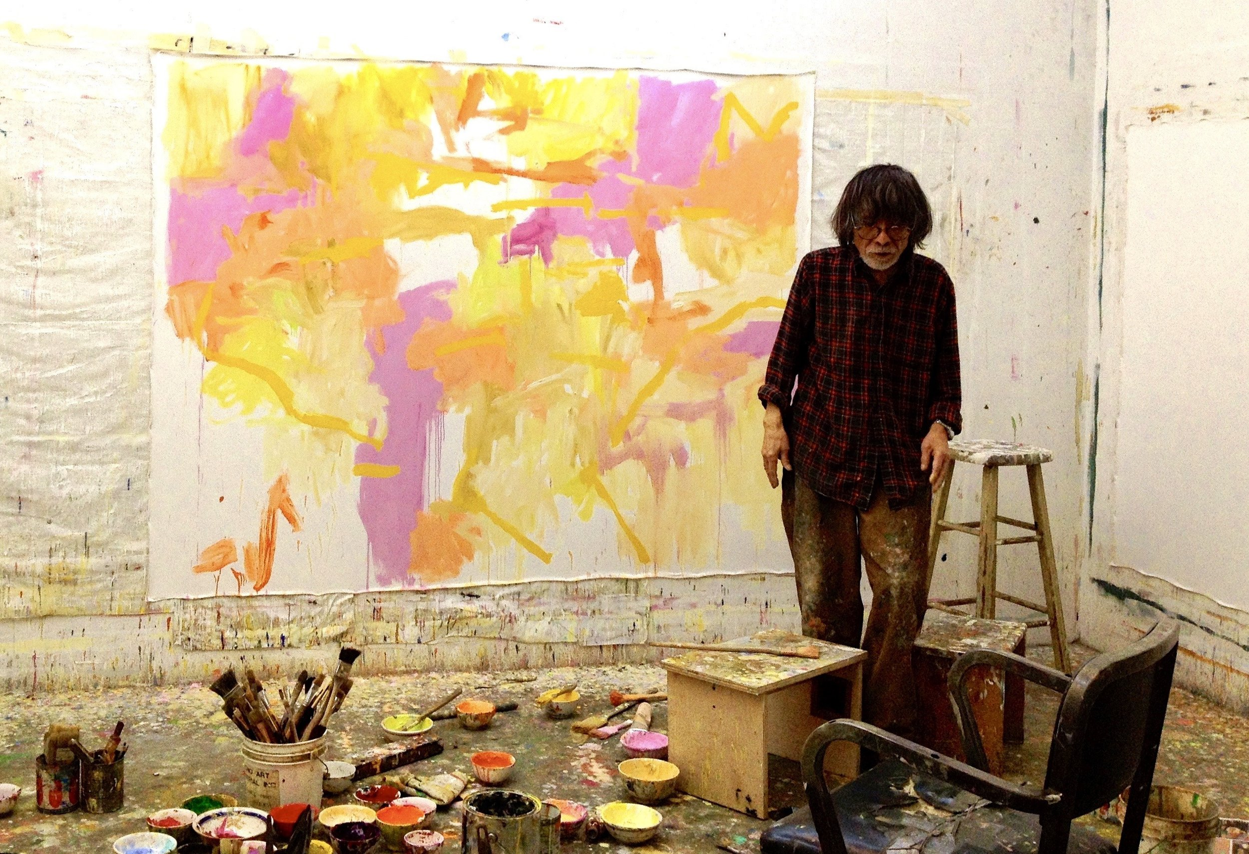 - Kikuo Saito (1939–2016) was a Japanese American abstract painter with ties to the Color Field tradition. Born in Tokyo, he came to New York City in 1966, where he worked as an assistant for such eminent painters as Helen Frankenthaler, Kenneth Noland, and Larry Poons.Saito's work infuses richly saturated colorscapes with delicately drawn lines. Saito was the creator of sui generis theatre and dance events, working under Ellen Stewart at La MaMa Experimental Theatre Company and collaborating with innovative and influential directors and choreographers Robert Wilson, Peter Brook, Jerome Robbins and Eva Maier.Saito's paintings have been featured in numerous solo and group shows worldwide, and are in the permanent collections of the Museum of Modern Art, the Aldrich Contemporary Museums, and numerous private and corporate collections. KinoSaito, a non-profit museum and art space in Verplanck, New York, will open in 2020, in honor of Saito's interdisciplinary practice and spirit.