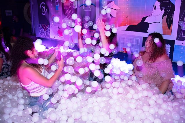 No plans this weekend? We're open Fridays & Saturdays 8pm-2am. Get in line early so you don't miss the ball pit!