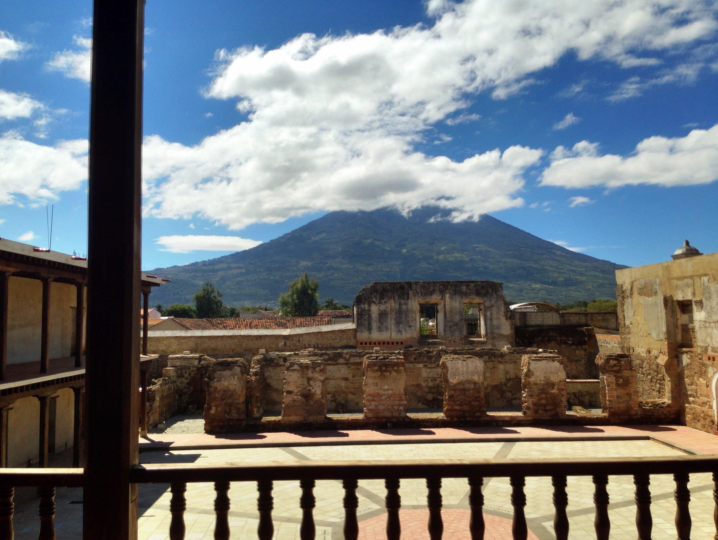GUATEMALA - Capitanes Generales Palace, Antigua Guatemala