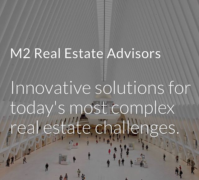 M2 Real Estate Advisors LLC #commercialrealestate #shoppingcenter #leasing #development #mixeduse #mall #retailplanning #economicrevitalization #tenantrep #assetmanagement #portfolioreview #market #projectmanagement  #alternativerevenuestreams #transitorienteddevelopment #innovativesolutions