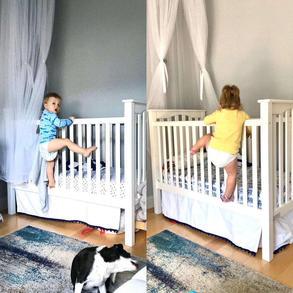 Transitioning Twins From Cribs To, When To Go From Crib Toddler Bed