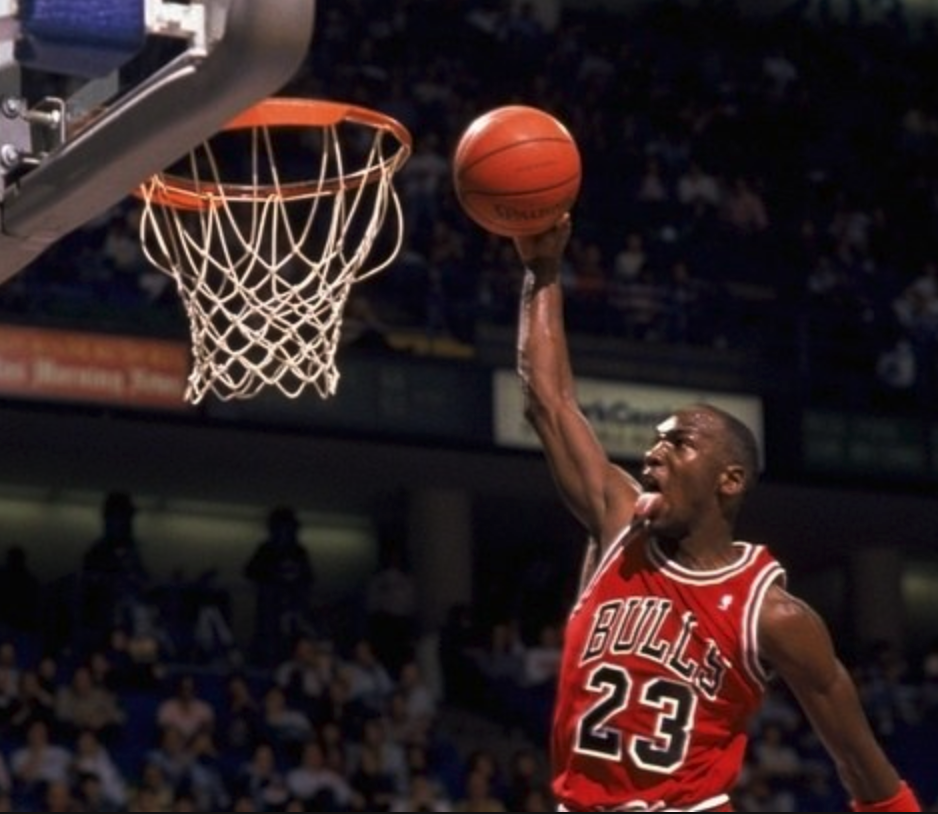 Michael Jordan was known for sticking out his tongue while playing. Did it improve his breathing?