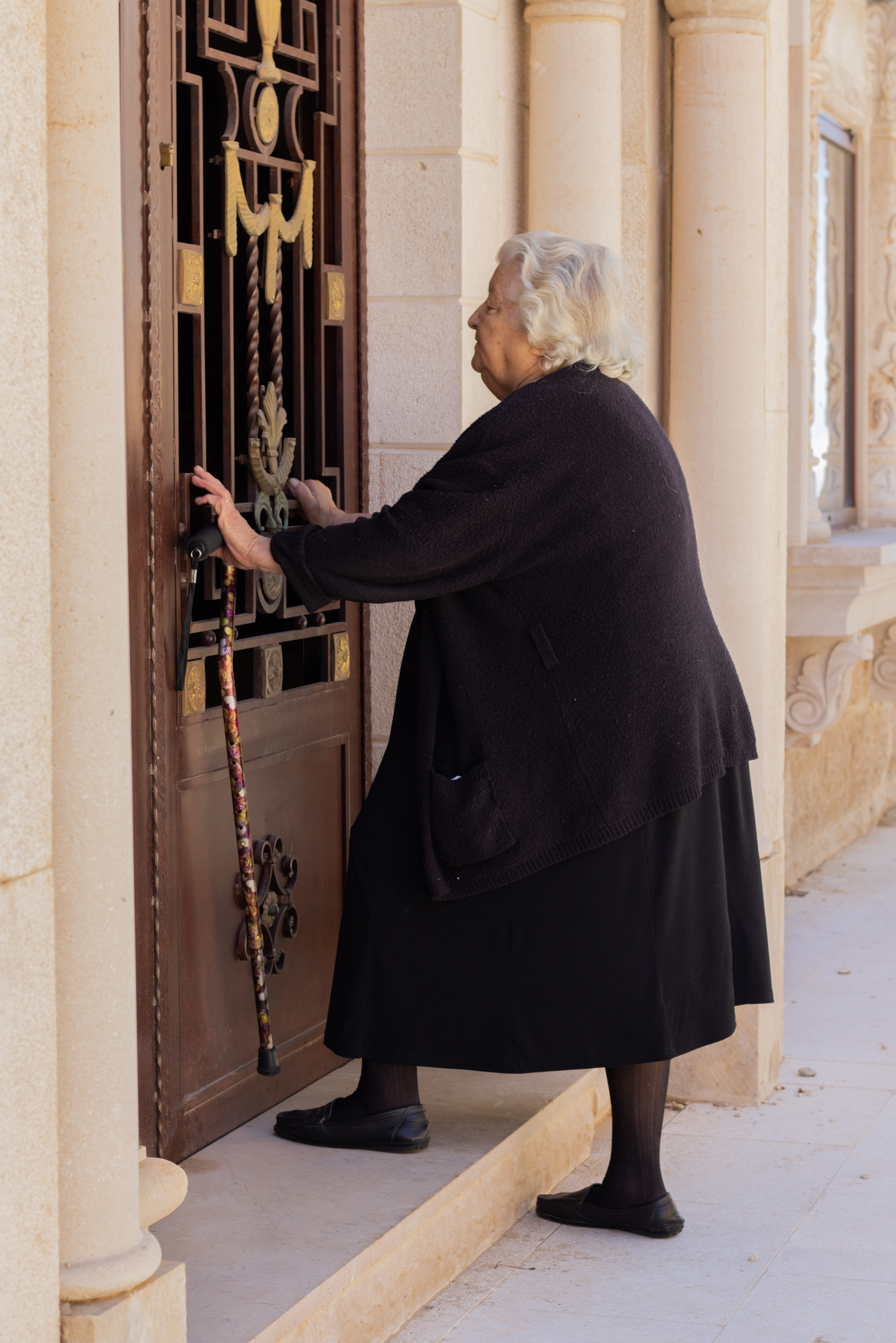 Grandma's Great Posture. 84 Yrs Old, No Back Pain