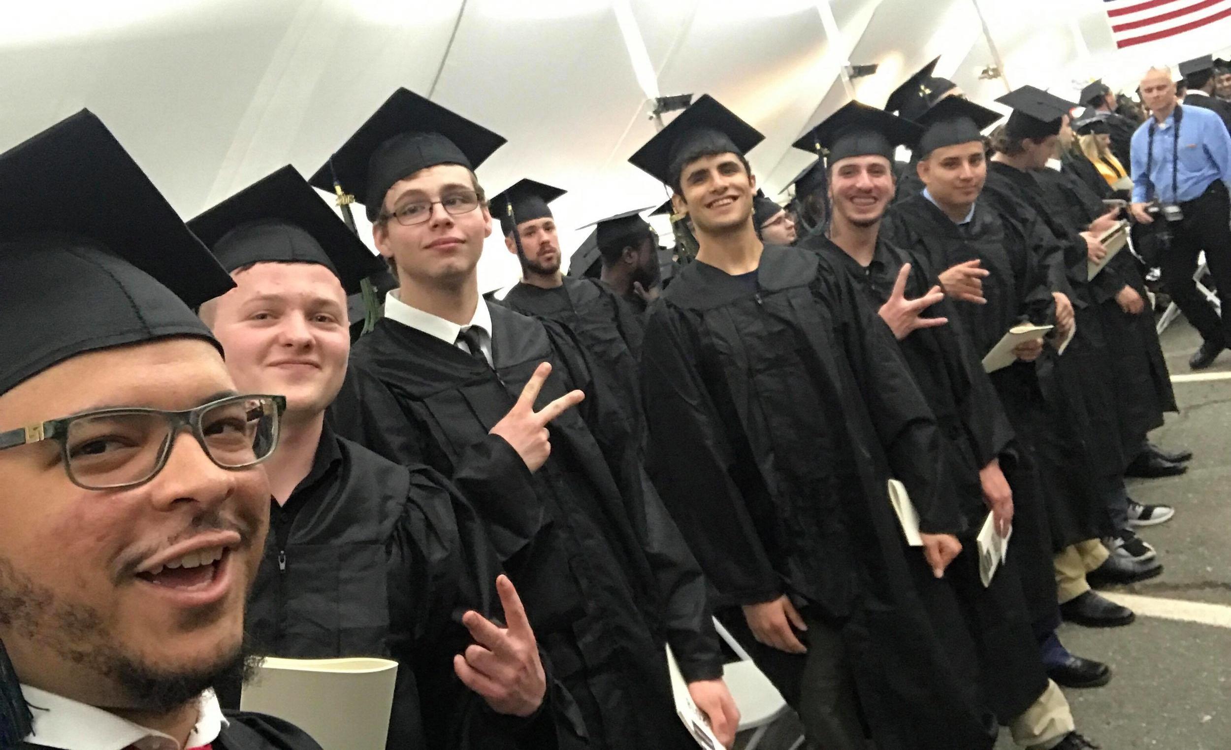 Graduating BMW School