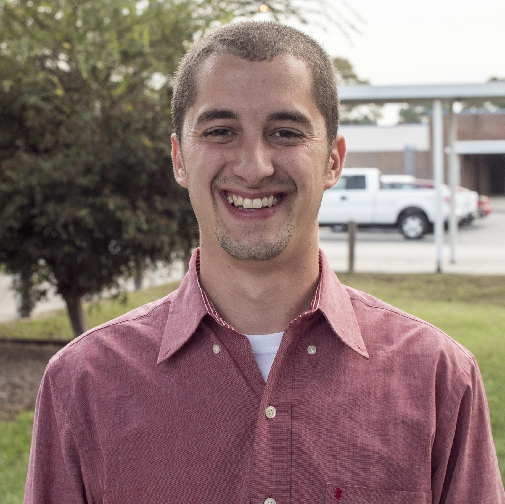 Brandon Wright, 2017 Hernando Teacher of the Year