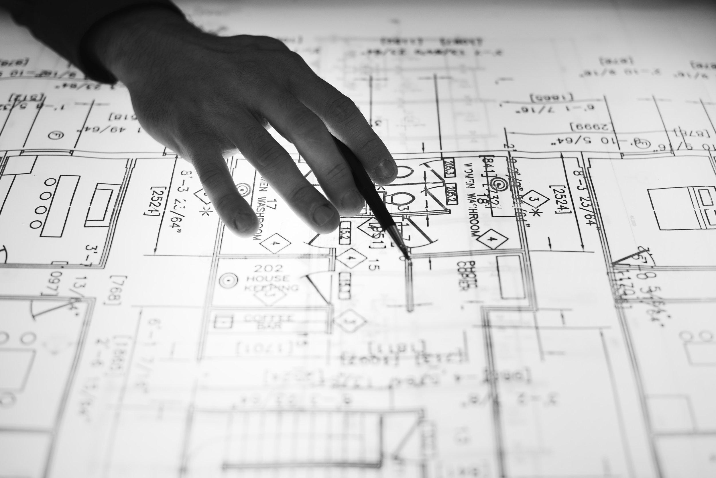 Design Development - Site DesignLandscape DesignInterior Design StudiesSpace PlanningExterior Elevation StudiesDevelop Design ConceptsCost Estimating