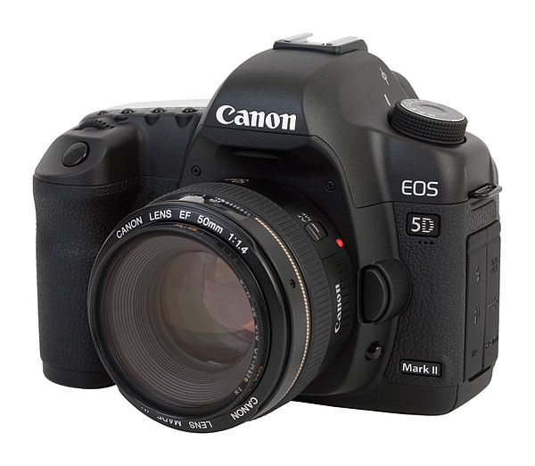 At the time of release, the 5D mark II was approximately £2000.