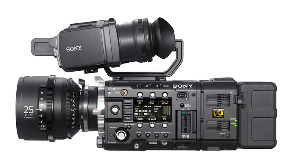 A Sony fs5, quite a common cinema grade camera also used by many production houses, currently costs £10,000+.