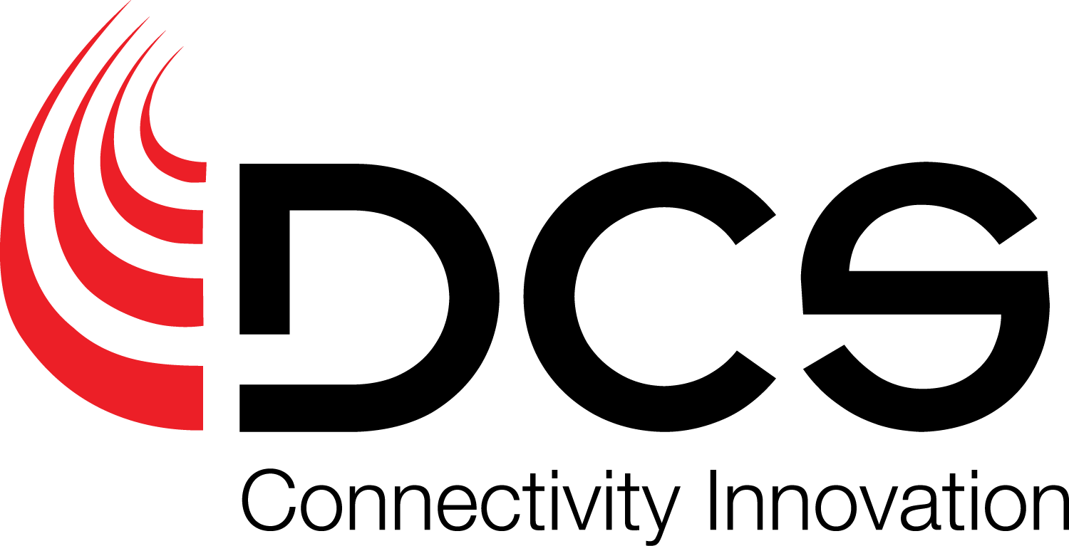 DCS Logo - Connectivity Innovation Red Swoosh Black Font.png