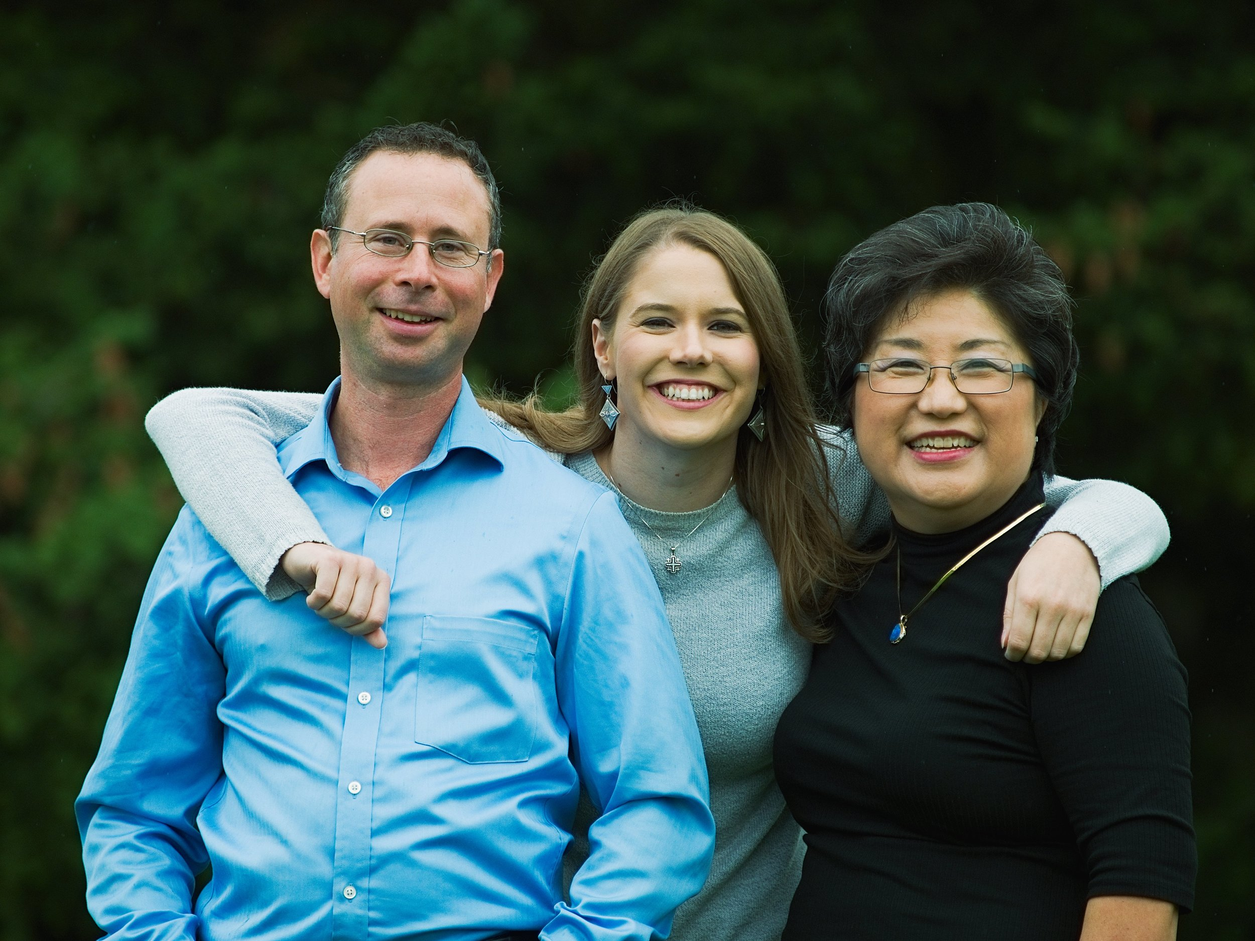 Jesse, State Rep Candidate Lauren Davis, State Rep Cindy Ryu (permission to reproduce is granted)