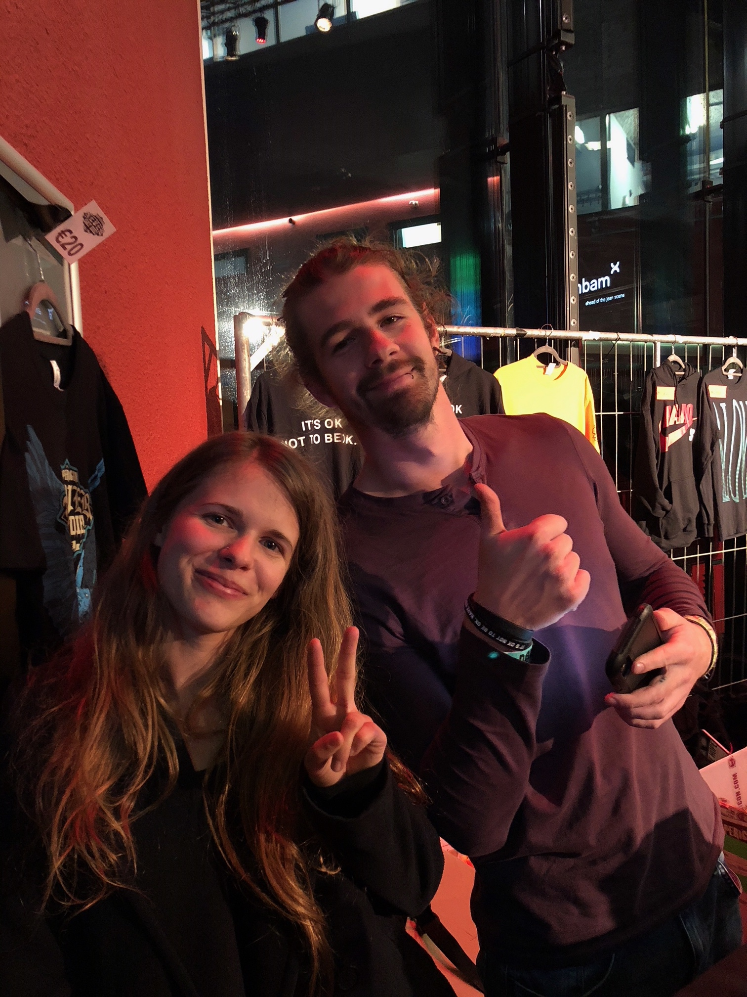 HFTD volunteers, Brent and Chelsea work to provide outreach and education in Eindhoven (NL)
