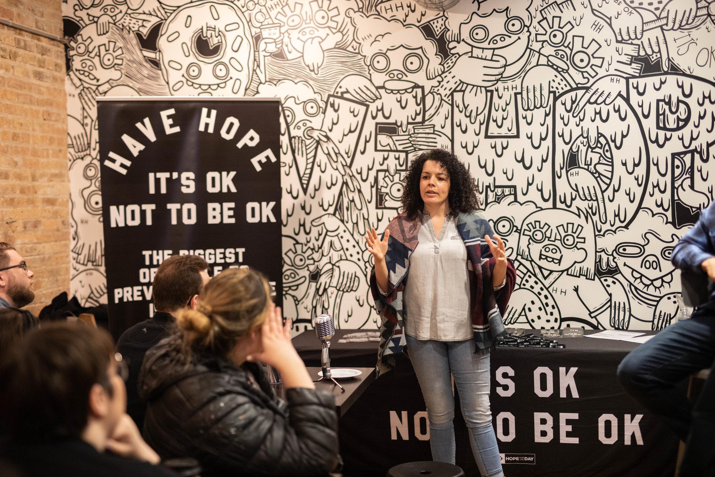 Art Therapist, Kristen McCary of Thrive Art Therapy. Photo: Kris Lori