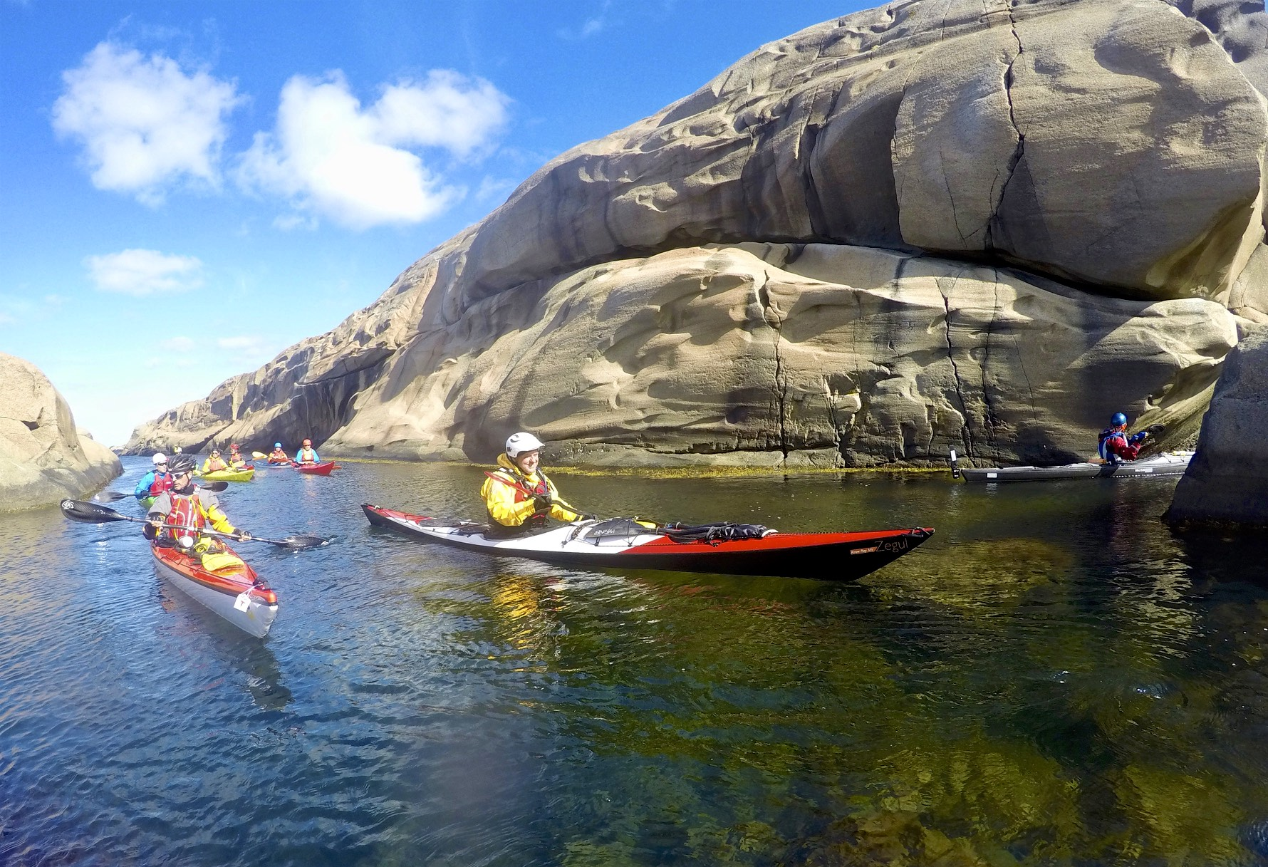 Paddling among islands in the Færder National park (Photo: Oslo Outdoor)