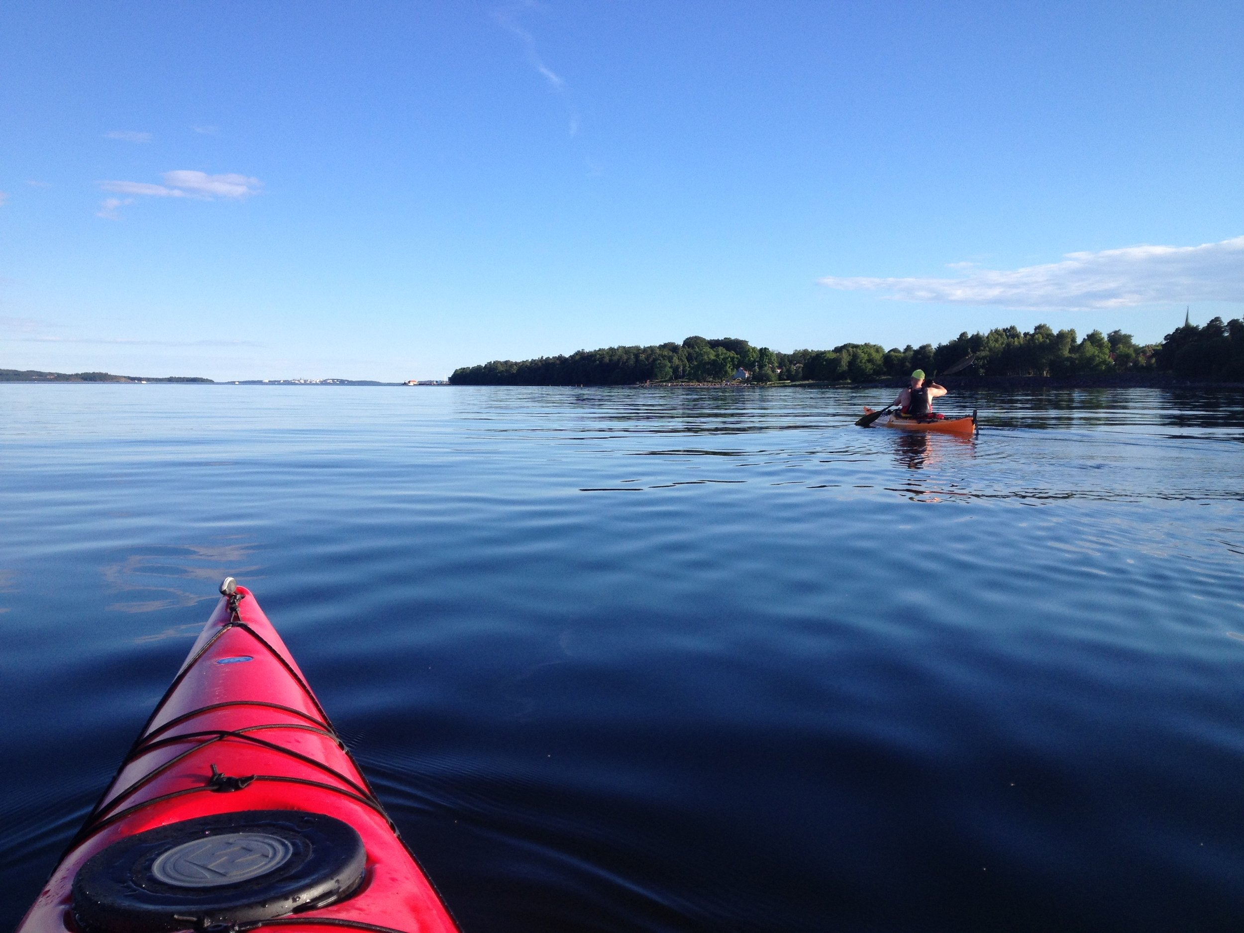 Paddling the inner Oslofjord (Photo: Oslo Outdoor)