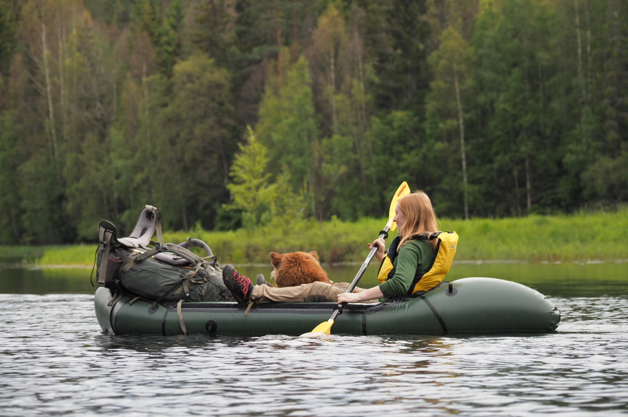 On Packraft expedition (Photo: Sigurd Stubberud)