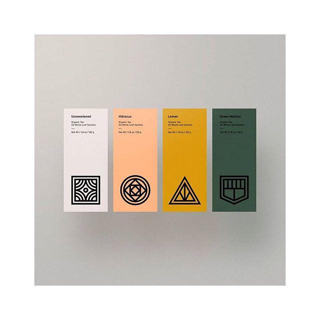 Tea labels by Steve Wolf
