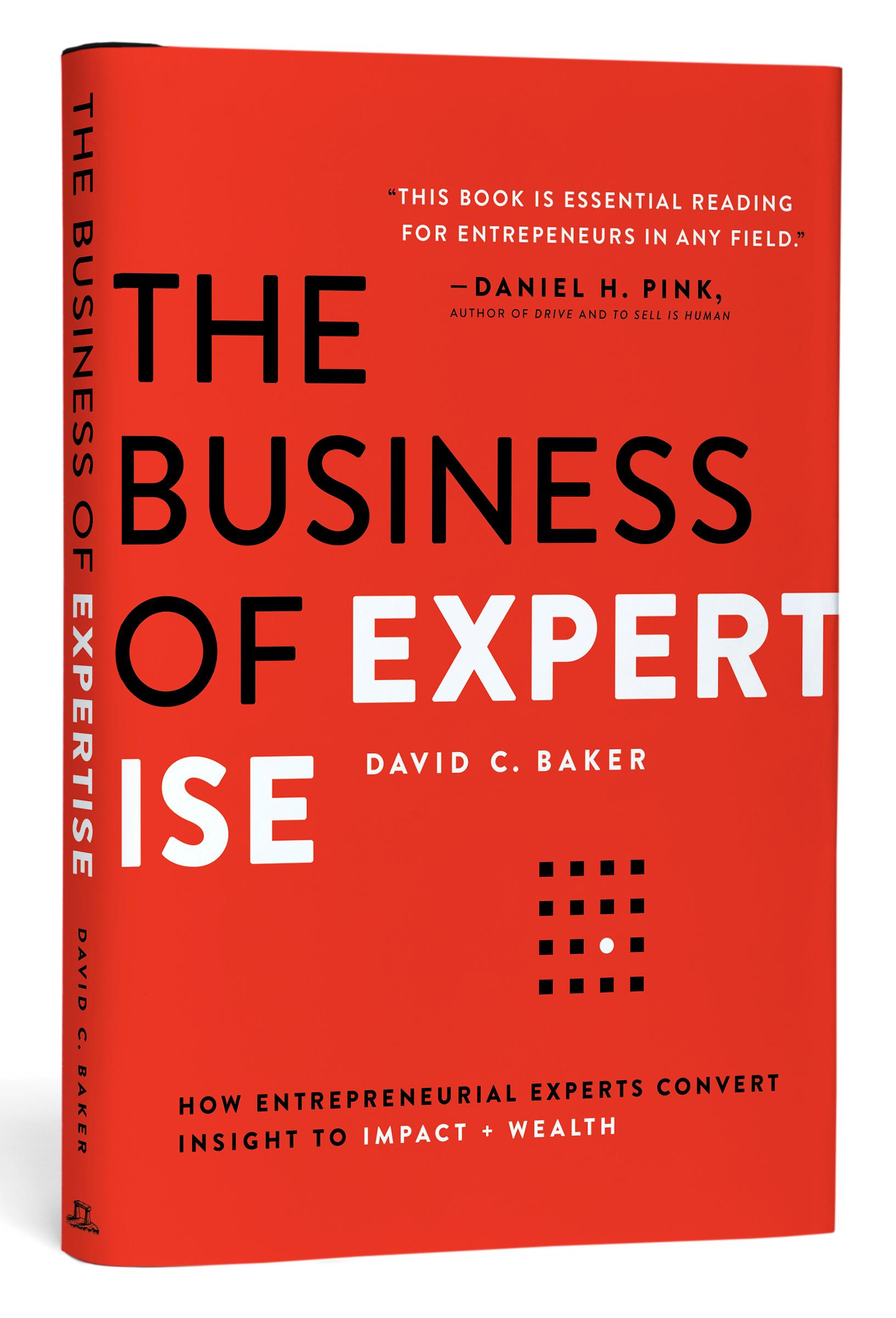 David's book, the business of expertise. -