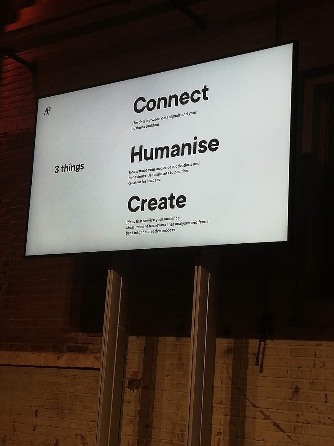 Another interesting slide by Analog folk