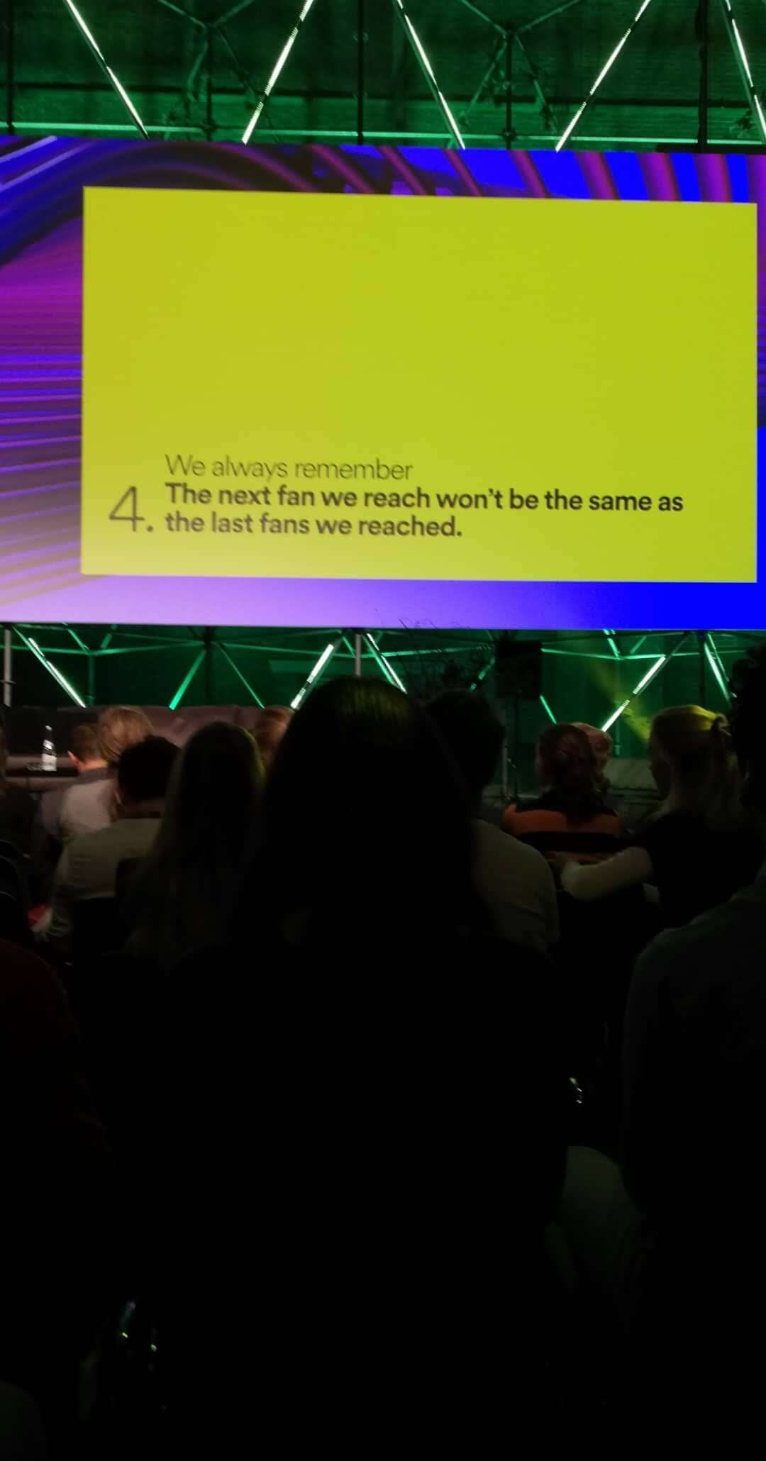 Don't count on your current audience to inform your new customers. Always be on the lookout for new people, never accept one 'final audience' as the the perfect fit, you might be missing out.