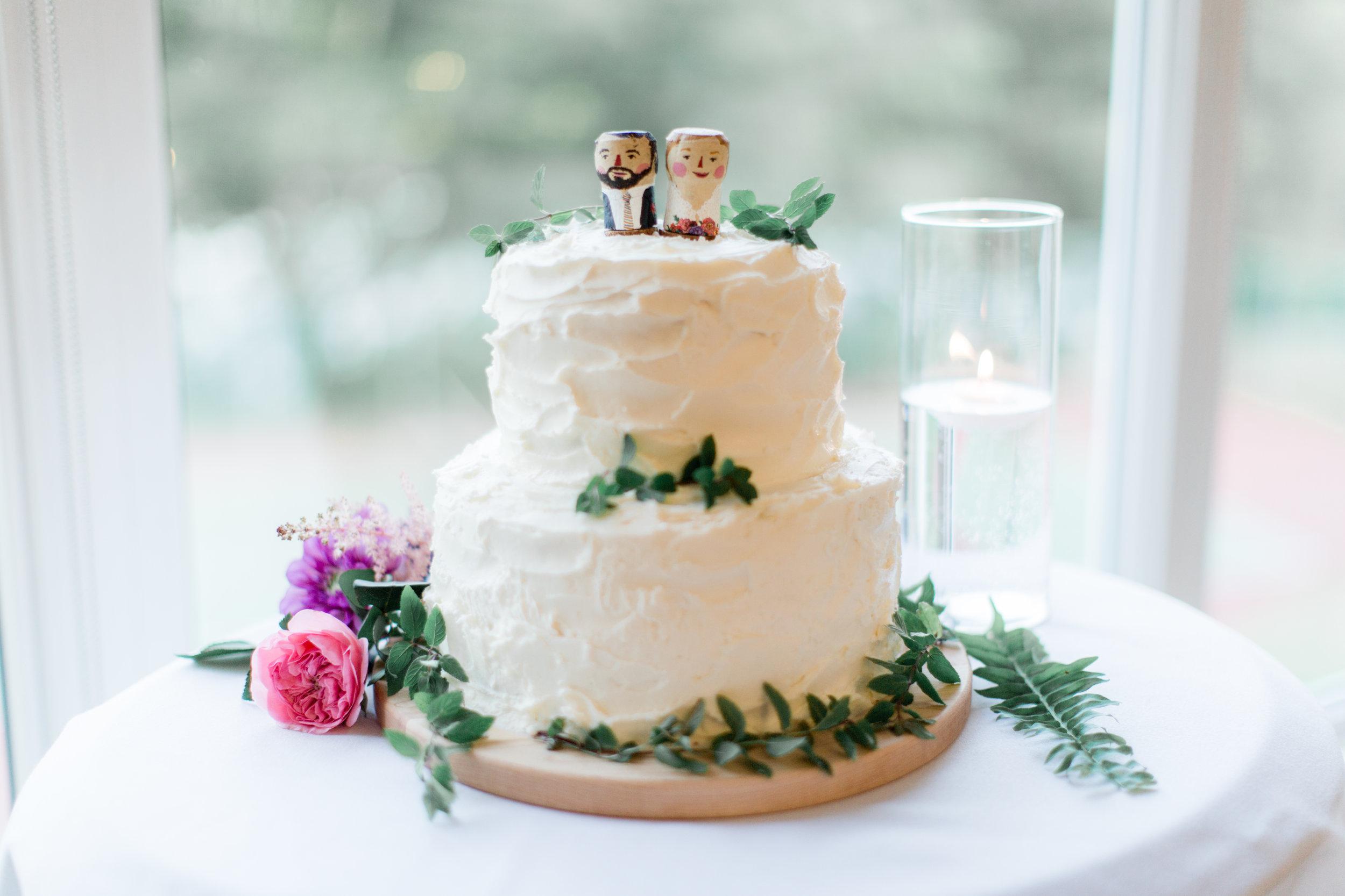 Maia LaPierre Wedding Cake