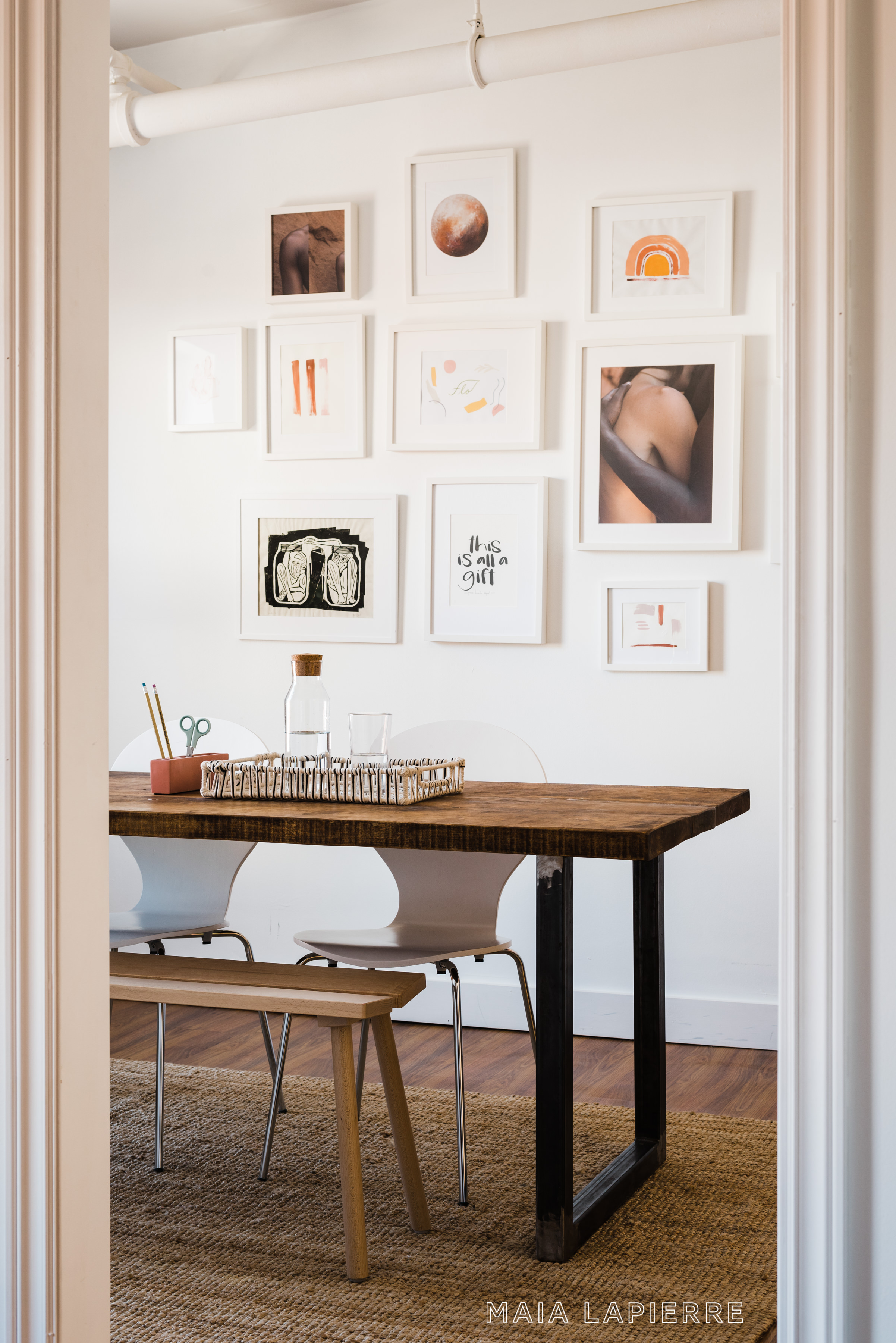 Maia LaPierre Interiors - Flo Meditation Studio Office