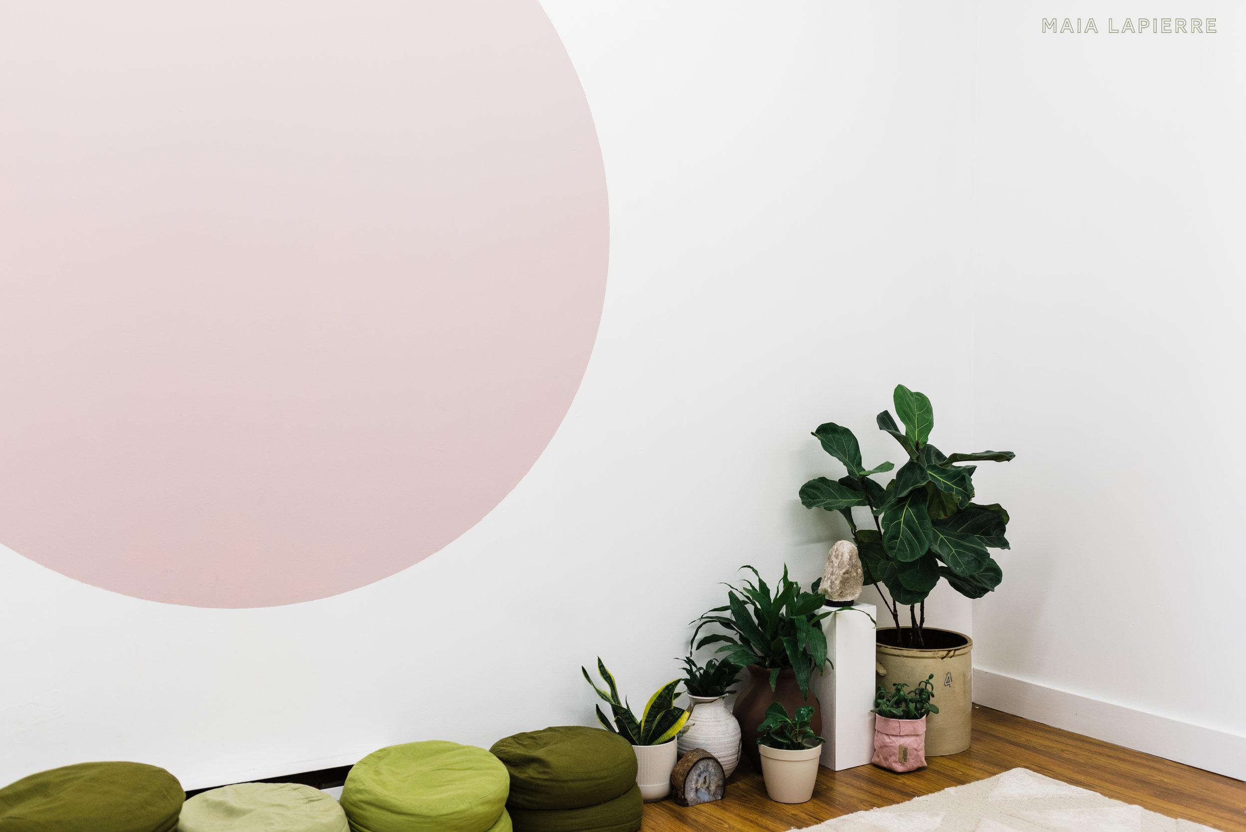Maia LaPierre Interiors - Flo Meditation Studio