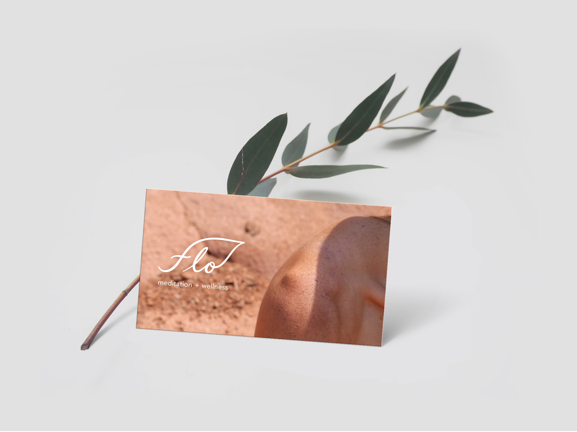 Branding by  Lizane Tan  with business card photography by Hafiia Mira