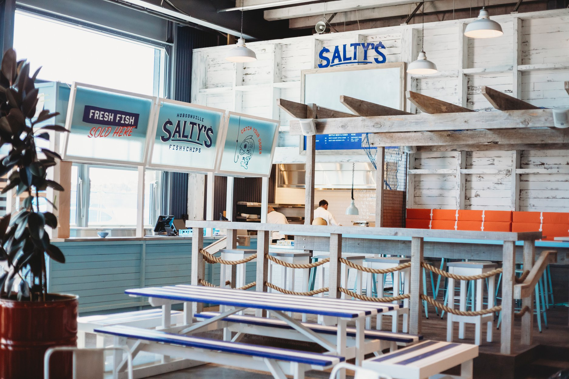 SALTY'S, HOBSONVILLE - CASE STUDY
