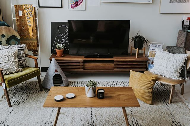 The living room space at the shop is set up to get to know you, your home, and everything in between.  Come sit, take a load off and let us know what interior finds you are looking for.  We can help!