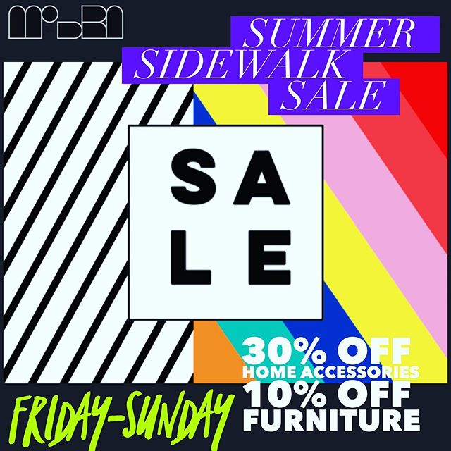 😎 WEEKEND VIBES 😎 Friday 11-6 Saturday 10-5 Sunday 11-3.  Rain for shine this SALE is on!  Everything outside is 30% OFF Home Accessories + 10% OFF Furniture and maybe some surprise FLASH SALES inside 🤯 . . . #whatsUptown #interiordesign #homeaccessories #sale #sidewalksalw #grandrapids #grmi #michigan #uptownbusinessassociation #easthills #egr #eastown #fultonheightsgr #retailtherapy #modrnGR #promo