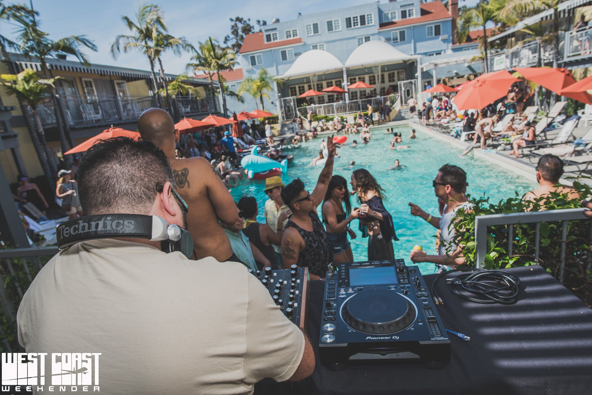 Pool Party at West Coast Weekender 2018    Photo Credit: Diva Hammad