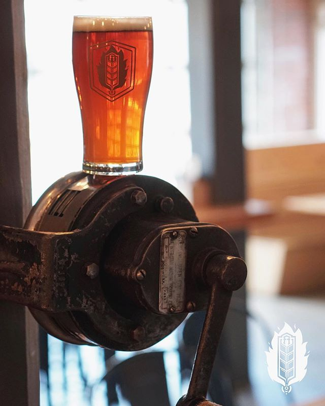 FH On Tap! | This week's featured tap is Siren from our friends at @lighthousebeer - Not only is Siren a great beer but sirens and Fire Halls have history. This hand-cranked siren was actually used by the Cranbrook Fire Department. While not as important as it's previous function, we use it to announce last-call. If you're here at closing you'll know it ;)⠀ ⠀ More on the brew:⠀ ⠀ Siren is an Imperial Red Ale. It's a chestnut, amber colour that smells of hop through two fingers of thick and fluffy head. Tasting this beer The imperial aspect makes for a creamy texture while the body has a strong hop flavour with toasted and floral notes bringing the whole beer together. The ABV rating of 8% does come into play in the finish adding a touch of harshness to the beer. A great tasting beer, that brings something a little different to the palette of Red Ales⠀ .⠀ 📸@kootenaycreations⠀ .⠀ .⠀ .⠀ .⠀ .⠀ .⠀ .⠀ .⠀ .⠀ #fhkt2018 #heritage #restoration #gastropub #cranbrook #cranbrookbc #downtowncranbrook #explorecranbrook #kootenays #kootenaylife #britishcolumbia #tapintothekootenays #eatlocal #history #microbrew #taphouse #bar #craftbeer #brick #firehall #patio #patioseason #beer #drinking #redale #siren