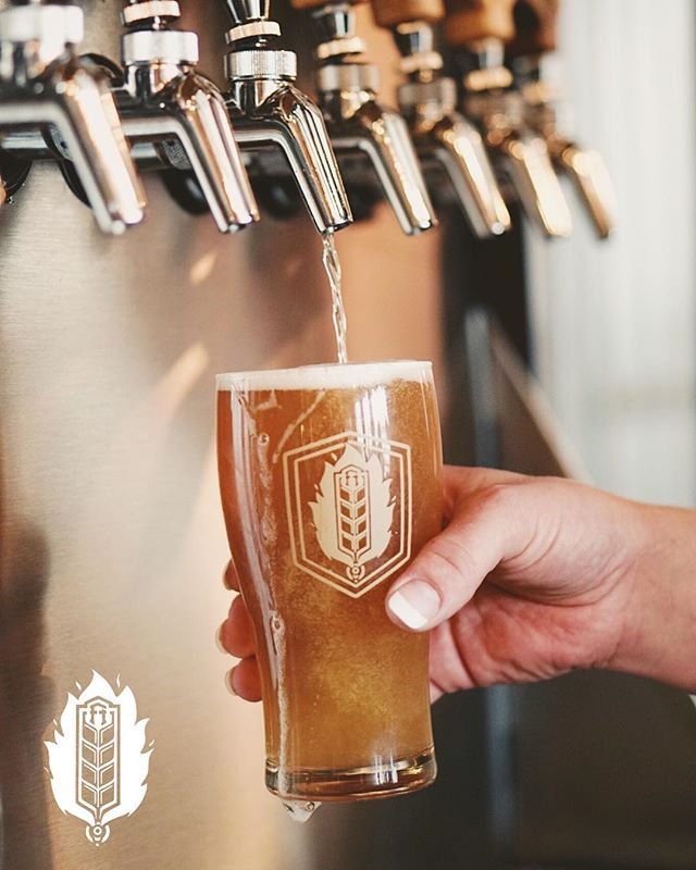 "Tired of playing it safe? This week's feature pint is – well, we have no idea. We received a mislabeled keg and instead of putting on our detective hats, we thought we'd just roll with it. It is on our tap-list as ""????"" with the description ""maybe an IPA…?"" ⠀ .⠀ Live a little - we think you'll like it. Special points if you can guess what it is. #fhontap ⠀ .⠀ .⠀ 📸@kootenaycreations⠀ .⠀ .⠀ .⠀ .⠀ .⠀ .⠀ .⠀ .⠀ .⠀ #fhkt2018 #heritage #restoration #gastropub #cranbrook #cranbrookbc #downtowncranbrook #explorecranbrook #kootenays #kootenaylife #britishcolumbia #tapintothekootenays #eatlocal #history #microbrew #taphouse #bar #craftbeer #brick #firehall #patio #patioseason #beer #craftbeer #drinking #mystery ⠀"