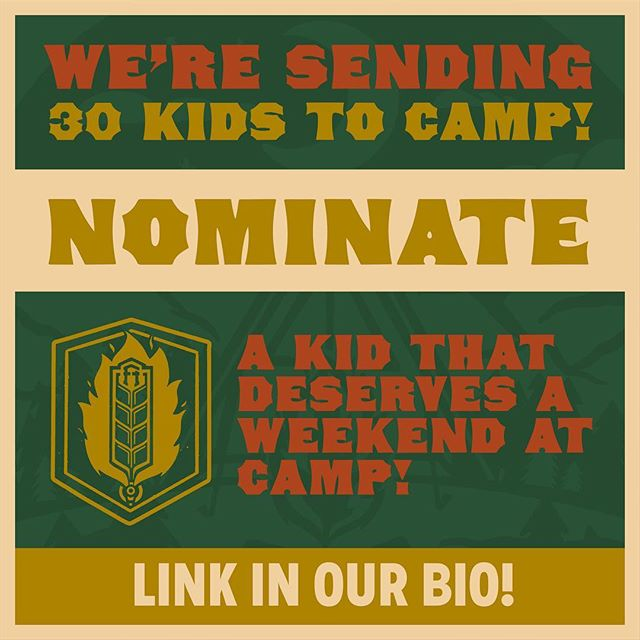 We're happy to announce that because of our community coming together on Happy Camper Day we're going to be able to send 30 deserving kids to an exclusive FHK&T + @columbiaoutdoorschool Campout in a few weeks! ⠀ .⠀ But we need your help! Head over to the link in our bio and nominate a kid that deserves a weekend at camp. Feel free to tag friends or family in the comments too! We want to see all 30 of these spots filled.⠀ .⠀ Thanks for your generosity Cranbrook - we love ya⠀ .⠀ .⠀ .⠀ .⠀ .⠀ .⠀ .⠀ ..⠀ .⠀ .⠀ .⠀ #fhkt2018 #heritage #restoration #gastropub #cranbrook #cranbrookbc #downtowncranbrook #explorecranbrook #kootenays #kootenaylife #britishcolumbia #tapintothekootenays #eatlocal #history #microbrew #taphouse #bar #craftbeer #brick #firehall #camping #camp #tent #happycamper #charity #donation #vote #nominate #community