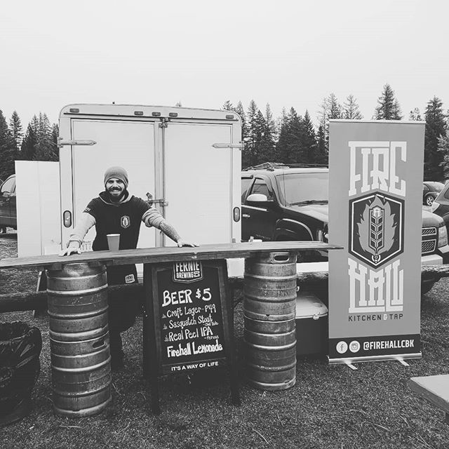 Happy to serve some drinks at the BC Provincial Disc Golf Championships (driven by @innovadiscs) at Wycliffe Regional Park. Come and meet some people who can throw a disc really really far!