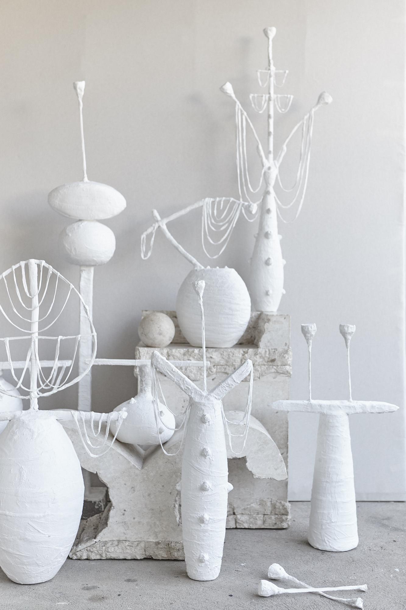 New sculptural works shot by Jared O'Sullivan