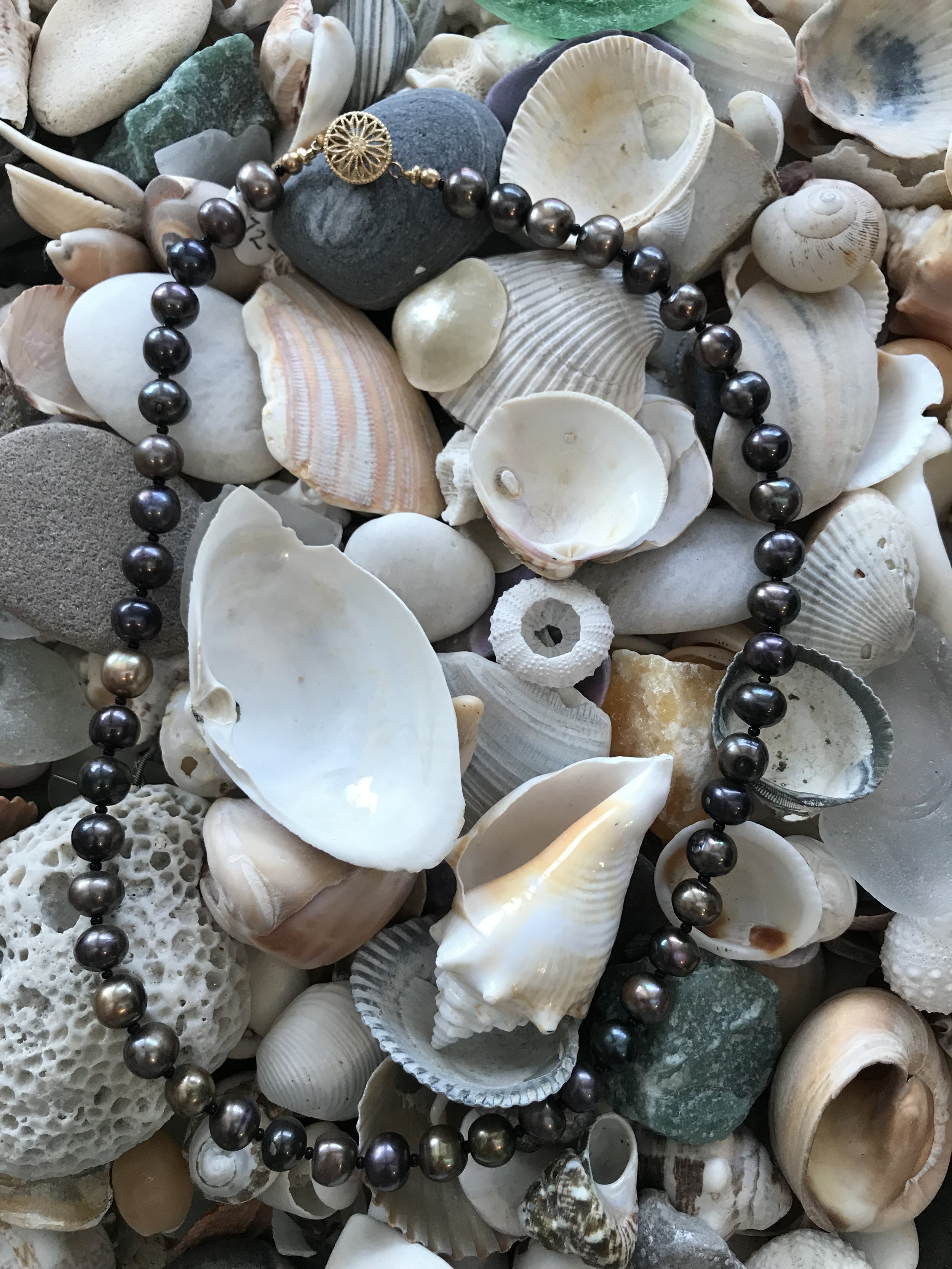 Basic Beading 101:  Learn the basics of beading. You will create a simple necklace, bracelet or anklet in this one hour workshop. This is a beginner class. Ages 10 and up. Class size is limited to 5 students. $35.00 plus materials
