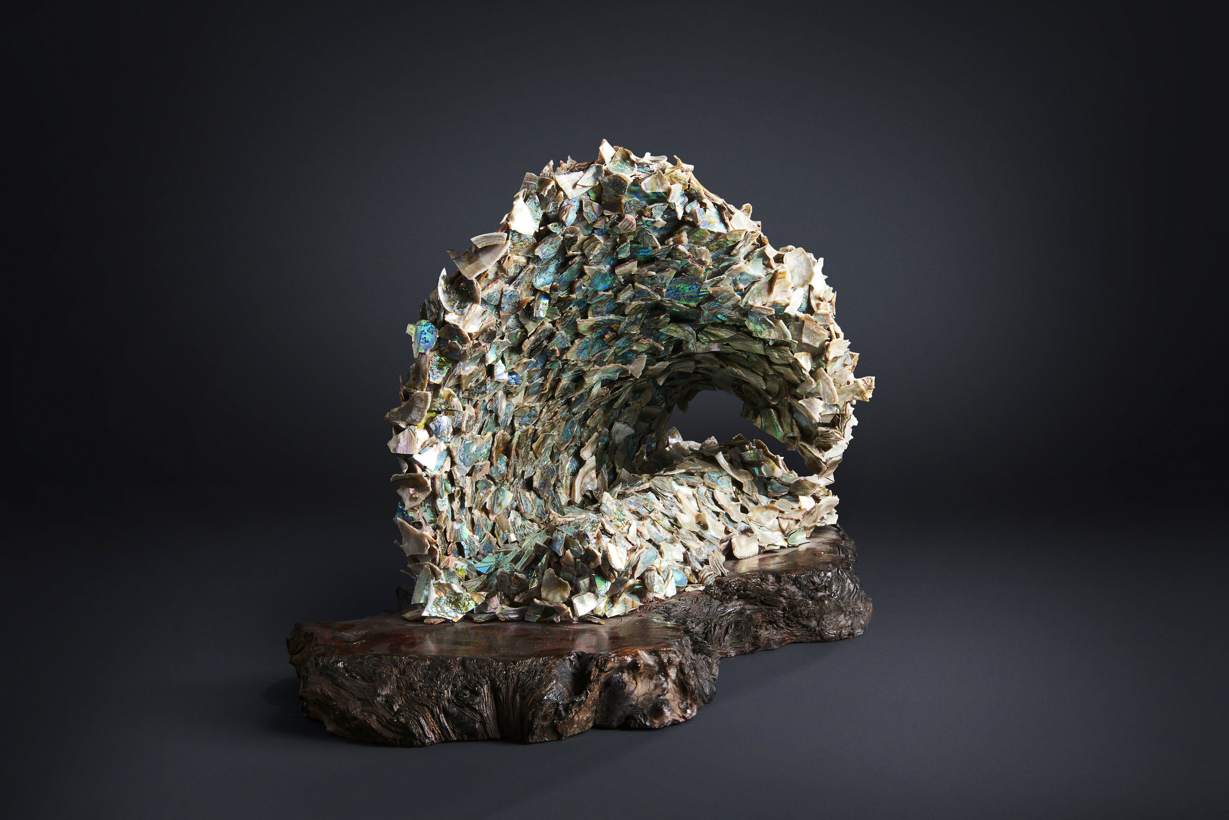 Abalone sculpture
