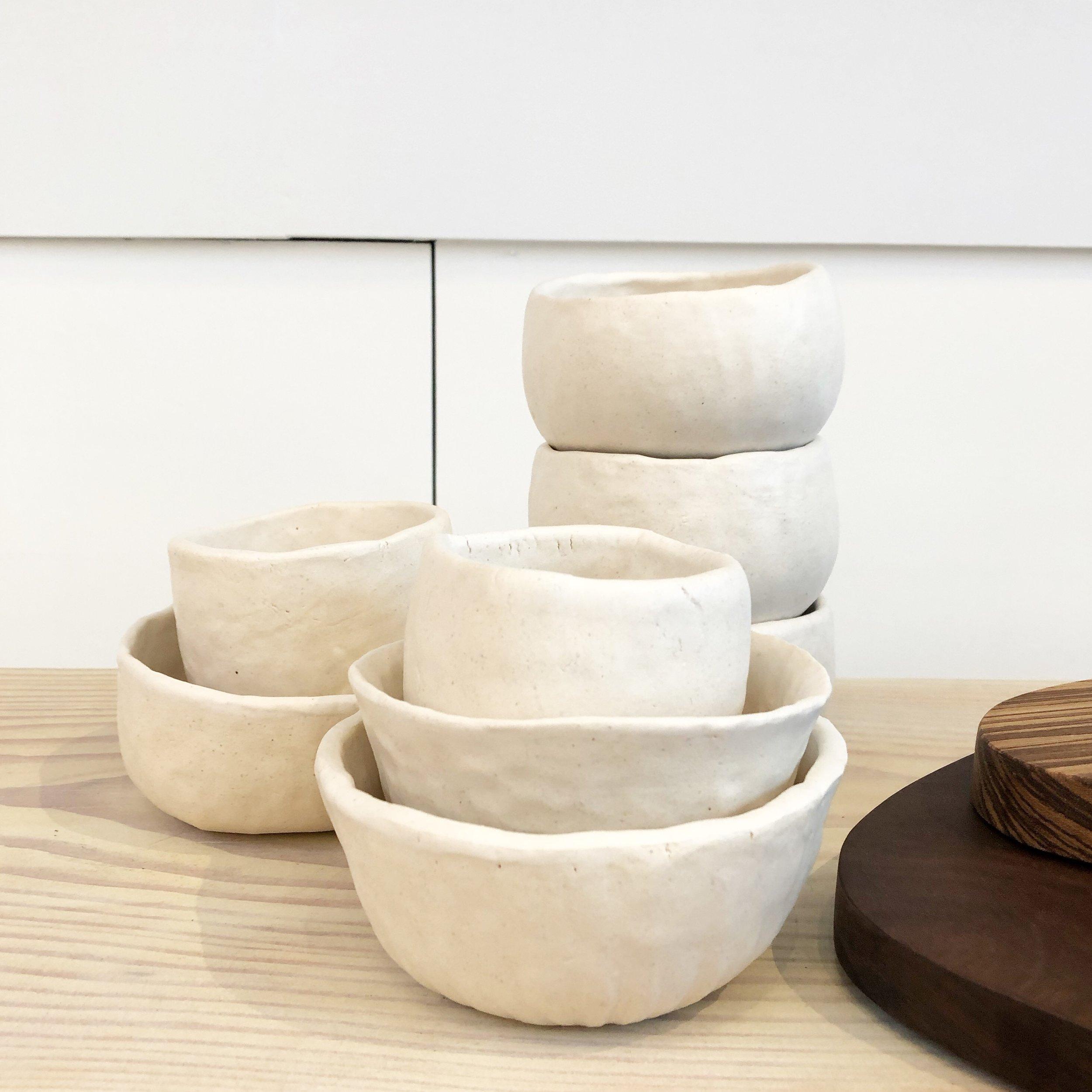 Students tea bowls
