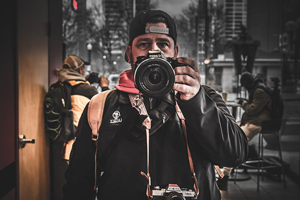 Shawn Augustson   Name: Shawn Augustson  Through painting Shawn has found a way to express himself and with his photography it has gotten him back out into society and increased his confidence in himself.