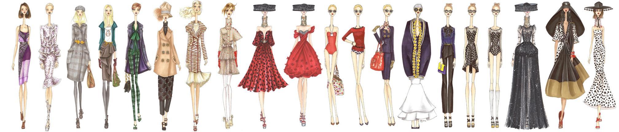 Vogue VignetteSwan Necks in a Row.jpg