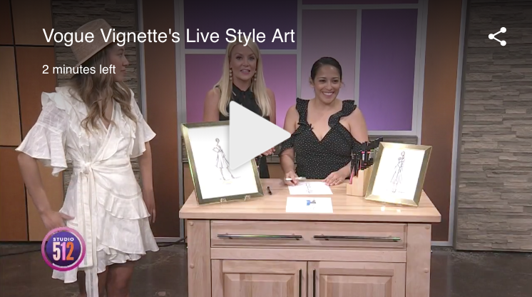 STUDIO 512 KXAN - Check out the Vogue Vignette feature with Stephanie Gerry and Rosie Newberry, live on Studio 512's Monday Morning Show, 7/8/19!