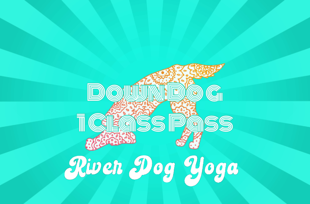 Down Dog Single Class Pass @ $12 - makes a great surprise for someone special!