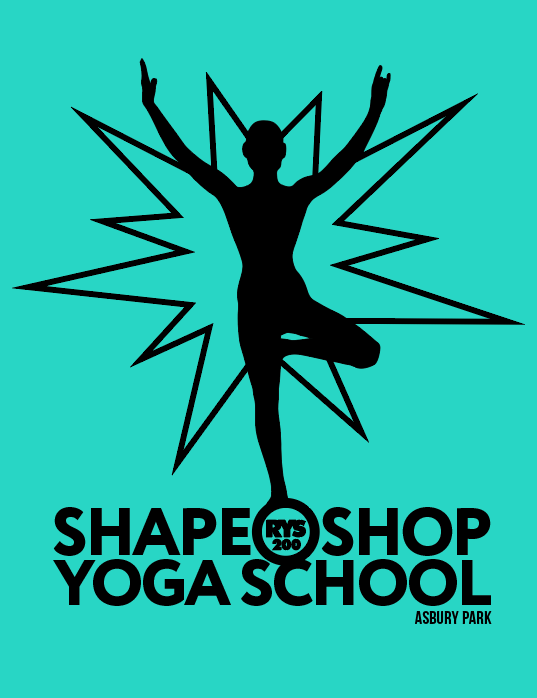Shape Shop Yoga School logo