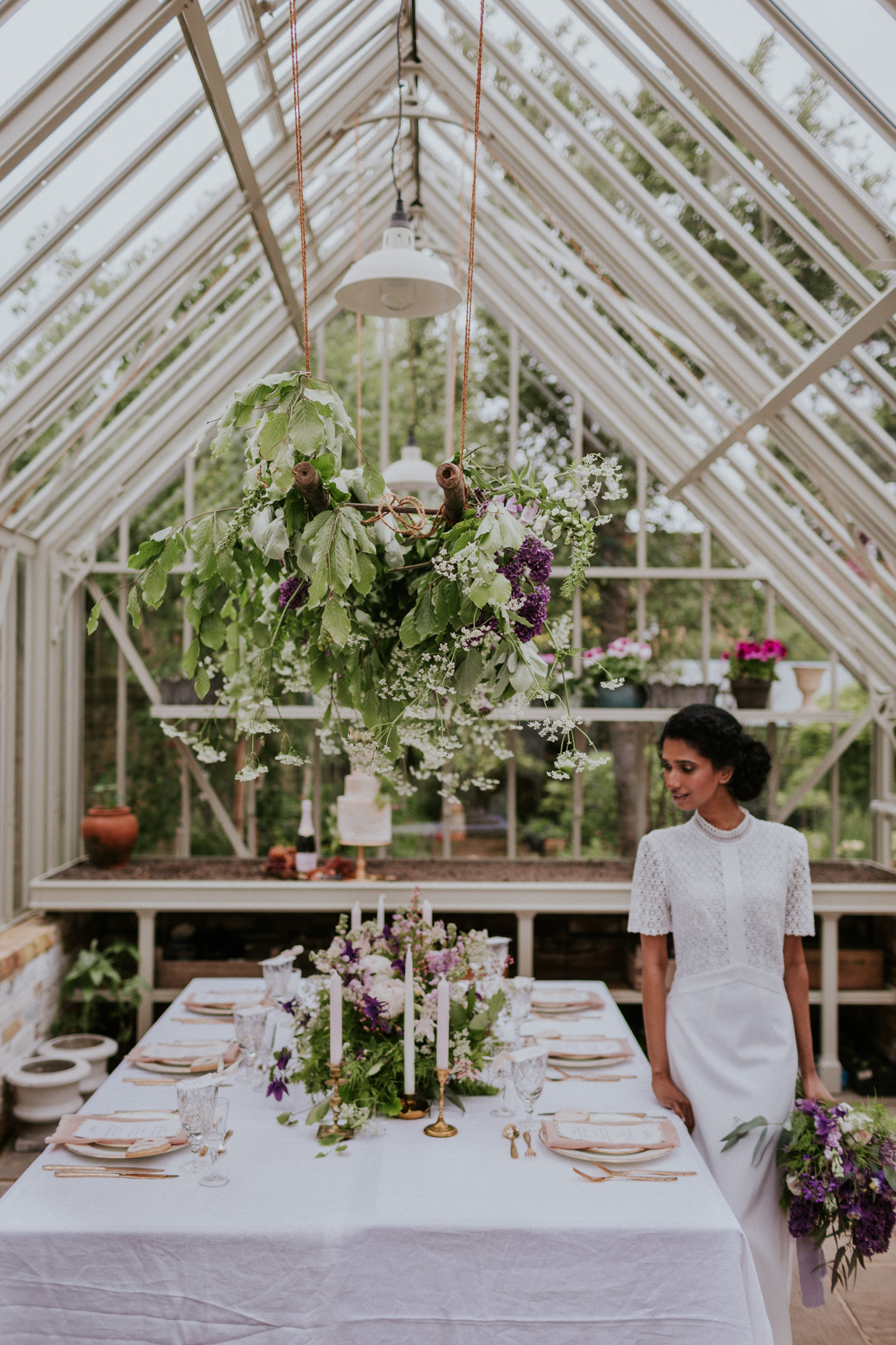 An endlessly romantic intimate setting. Perfect inspiration for a garden wedding.